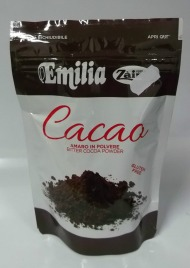 Cacao in polvere amaro 150 gr